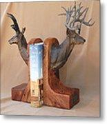 Texas Trophies Metal Print by J P Childress