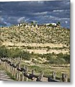 Texas, Western Themed Brewster County Metal Print