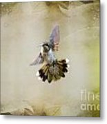 Textured Angel Metal Print