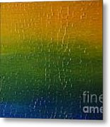Textured Colors Metal Print