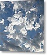 Textured Skies Metal Print