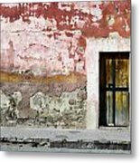 Textured Wall In Mexico Metal Print