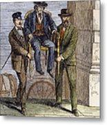Thaddeus Stevens, 1868 Metal Print