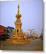 Thai Clock Tower  Metal Print