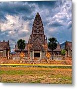 Thai Temple Metal Print