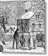 Thanksgiving, 1882 Metal Print