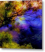 That Mountain Light Metal Print