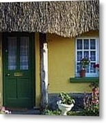 Thatched Cottage, Adare, Co Limerick Metal Print