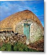 Thatched Shed, St Johns Point, Co Metal Print