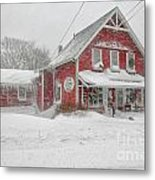 The 1856 Country Store On Main Street In Centerville On Cape Cod Metal Print