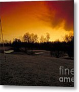 The 19th Hole Metal Print