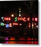 The 5 Point Cafe Metal Print