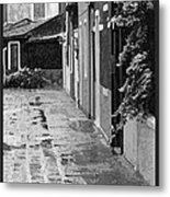 The Abandoned Umbrella Metal Print