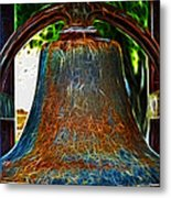 The Academy Bell Fractal Metal Print