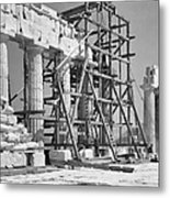 The Acropolis.  The Parthenon.  One Metal Print