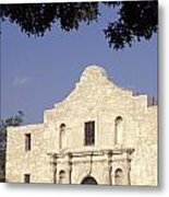 The Alamo San Antonio Texas Metal Print