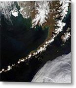 The Aleutian Islands And The Alaskan Metal Print