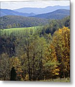 The Allegheny Front, North Fork Metal Print