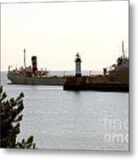 The Alpena Ship Metal Print