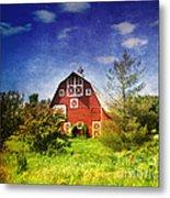 The Amish House Metal Print