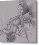 The Ant Buster Metal Print