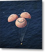 The Apollo 16 Command Module Metal Print