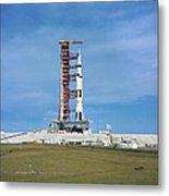 The Apollo Saturn 501 Launch Vehicle Metal Print