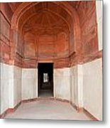 The Architecture And Doorways Of The Humayun Tomb In Delhi Metal Print