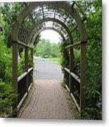 The Archway Metal Print