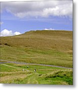 The Ascent Of Mam Tor Metal Print