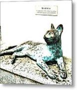 The Asian Civilisations Museum Cat Metal Print