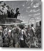The Attack Of The Zombie Tourists Metal Print