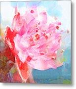 The Aura Of A Peach Blossom Metal Print