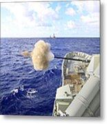 The Australian Navy Frigate Hmas Metal Print