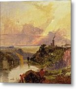 The Avon Gorge At Sunset  Metal Print by Francis Danby