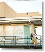 The Balcony Of The Lorraine Motel Where Metal Print