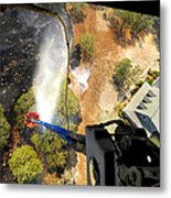 The Bambi Bucket Attached To A Ch-47 Metal Print