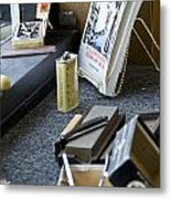 The Barber Shop 11 Metal Print