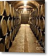 The Barrels Metal Print