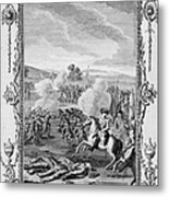 The Battle Of Culloden Metal Print