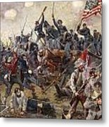 The Battle Of Spotsylvania Metal Print by Henry Alexander Ogden