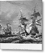 The Battle Of Texel, 1673 Metal Print