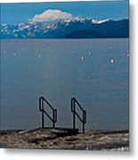 The Beach At Camp Rich. Metal Print