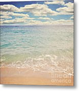 The Beach Metal Print