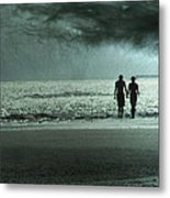 The Beachcombers Metal Print by Amy Tyler