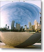 The Bean Metal Print