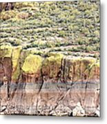 The Beauty Of Iron Nature Metal Print