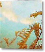 The Beauty Of Weeds Metal Print