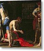 The Beheading Of John The Baptist Metal Print