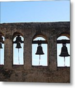The Bells At The San Juan Capistrano Mission Metal Print